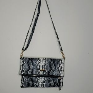 Coquet Faux Snake Skin Leather 3 in 1 bag